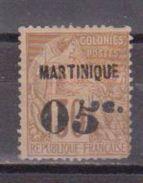 MARTINIQUE        N° YVERT  :   12 A ( 2° Choix )      NEUF SANS GOMME        ( SG     152    ) - Nuovi