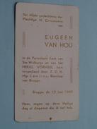 Eugeen VAN HOU Brugge 12 Juni 1949 ( Zie Foto's ) ! - Communion