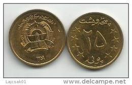 Afghanistan 25 Pul 1980. - Afghanistan
