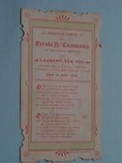 Laurent VAN HOU Den 15 Juni 1905 I/d Kapel St. Lodewijkscollege Te BRUGGE ( Waffelaert) ( Zie Foto's ) ! - Communion