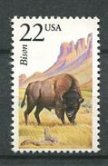 208 ETATS UNIS (USA) 1987 - Bison - Neuf ** (MNH) Sans Trace De Charniere - Etats-Unis