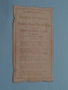 Joseph Et Louis VAN DER BEKE Le 29 MAI 1902 à BRUGES Collège St. LOUIS () ( Zie Foto's ) ! - Communion