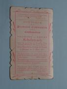 François Et Lucien SCHELSTRAETE Le 29 MAI 1902 à BRUGES Collège St. LOUIS () ( Zie Foto's ) ! - Communion