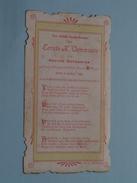 Hector DEPOORTER Den 9 April 1905 Te S. KRUIS Parochialekerk ( Zie Foto's ) ! - Communion