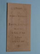 LouisGOFFINET Le 11 Juin 1903 Au Chapel De Collège St. Louis à BRUGES ( Zie Foto's ) ! - Communion
