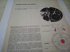 ANCIENNE PUBLICITE COMMENT CHOISIR SA MONTRE INCABLOC 1961 - Autres