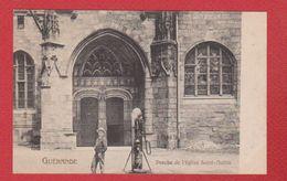Guérande  --  Porche De L église St Aubin - Guérande