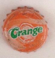 Vietnam Viet Nam Orange Used Beverage Bottle Crown Cap / Kronkorken / Capsule / Chapa / Tappi - Soda