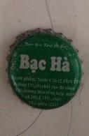Vietnam Viet Nam Bac Ha PEPPERMINT Used Bottle Crown Cap / Kronkorken / Capsule / Chapa / Tappi - Soda