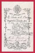 Distribution Solennelle Des Prix - École Chrétienne Libre - Meudon - Sentier De La Bourgogne - Année 1912 - Diplômes & Bulletins Scolaires