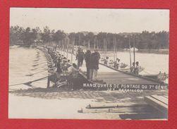 Manoeuvres De Pontage Du 7 ème Génie / 12 ème Bataillon - Manoeuvres
