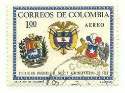1966 - Colombia PA 465 Stemmi, - Francobolli