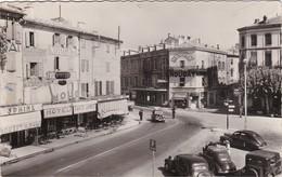 MONTELIMAR - La Place Marx-Dormoy - Nombreux Commerces - Voitures - CPSM PF Timbrée 1954 - Montelimar