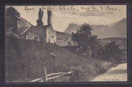 CPA 04 - Vallée De L'Ubaye - LE PLAN D' UBAYE Et Le Grand-Morgon - Jolie Vue Avec Détails Maisons Village Enfants - Francia