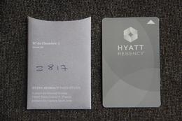 Carte Hotel HYATT REGENCY PARIS ETOILE. - Hotel Keycards