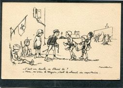 CPA - Illustration Poulbot - C'est Un Boche Ce Blessé Là? - Non, M'sieu Le Major, C'est Le Cheval Du Capitaine - Guerre 1914-18