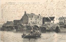 CONCARNEAU - Le Passage De Lanriec,le Départ Du Bac. - Concarneau