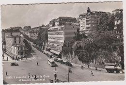 Suisse Lausanne  Place De La Gare Et Avenue  Ruchonnet - Switzerland