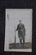 Carte Photo D'un Soldat - Characters