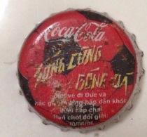 Vietnam Viet Nam Coca Cola Football WORLD CUP GERMANY Used Bottle Crown Cap / Kronkorken / Capsule / Chapa / Tappi - Caps