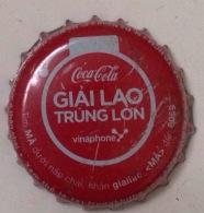 Vietnam Viet Nam Coca Cola GIAI LAO TRUNG LON Used Bottle Crown Cap / Kronkorken / Capsule / Chapa / Tappi - Caps