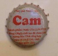 Vietnam Viet Nam CAM Orange Used Crown Cap / Kronkorken / Capsule / Chapa / Tappi - Soda