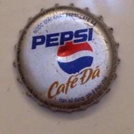 Vietnam Viet Nam PEPSI CAFE DA Used Crown Cap / Kronkorken / Capsule / Chapa / Tappi - Soda