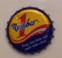 Vietnam Viet Nam Number 1  (local Brand) Used Crown Cap / Kronkorken / Capsule / Chapa / Tappi - Soda