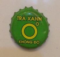 Vietnam Viet Nam TRA XANH / Green Tea Used Crown Cap / Kronkorken / Capsule / Chapa / Tappi - Soda