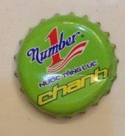 Vietnam Viet Nam Number 1 CHANH / Lemon Used Crown Cap / Kronkorken / Capsule / Chapa / Tappi - Soda