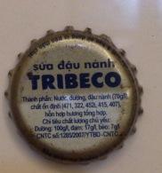 Vietnam Viet Nam TRIBECO Soya Bean Used Crown Cap / Kronkorken / Capsule / Chapa / Tappi - Soda