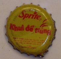 Vietnam Viet Nam Coca Cola Sprite Promotion Used Crown Cap / Kronkorken / Capsule / Chapa / Tappi - Caps