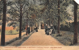 Heusden - Zolder    Pensionnat Des Ursulines , A Heusden   Allée Saint-Joseph  Rechter Hoek Beschadigd  X 1928 - Heusden-Zolder