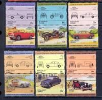Nukulaelae Tuvalu 328 - Série Voiture (Cars Car Automobiles Voitures) 12 Valeurs MNH ** - Voitures