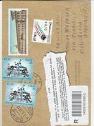 Intero Postale  Euro Lettera Multicolore Viaggiata Annullato - Italia