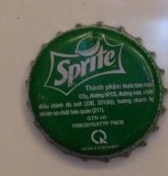 Vietnam Viet Nam Coca Cola Sprite Used Bottle Crown Cap / Kronkorken / Capsule / Chapa / Tappi - Caps