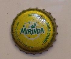 Vietnam Viet Nam PEPSI MIRINDA Used Crown Cap / Kronkorken / Capsule / Chapa / Tappi - Soda