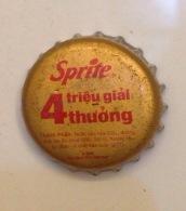 Vietnam Viet Nam Coca Cola Sprite BIG PROMOTION With 4 Milliions Prizes / Used Crown Cap / Kronkorken / Capsule / Chapa - Caps