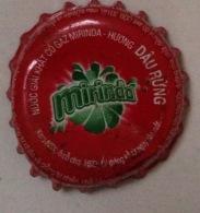 Vietnam Viet Nam PEPSI MIRINDA Wild Strawberry 2006 Used Crown Cap / Kronkorken / Capsule / Chapa  / Tappi - Soda