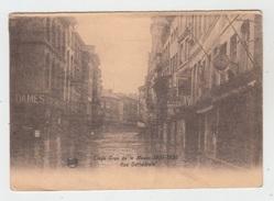 LIEGE / CRUE DE LA MEUSE 1925-1926 - RUE CATHEDRALE - Liège