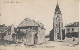 D77 - BARCY - L'EGLISE DE BARCY APRES LE BOMBARDEMENT - CAMPAGNE DE 1914 - Frankreich