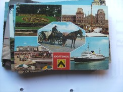 België Belgique West Vlaanderen Oostende Met Paard En Koets - Oostende