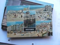België Belgique West Vlaanderen Oostende Met Strandgezichten - Oostende
