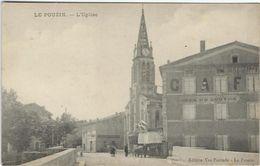 Ardeche : Le Pouzin, L'Eglise - Le Pouzin