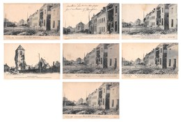 (62) - Lot De 7 CPA De Saint St Laurent Blangy - Pas De Calais - Guerre 1914 1915 - Bon état - Saint Laurent Blangy