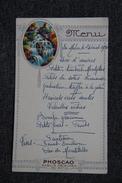 Menu D'un Repas Pris à LAMALOU LES BAINS Le 24 Aout 1930 - Menus