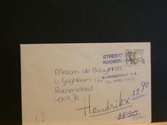 73/004  BRIEF  STREEKPOST ROOSENDAAL - Period 1980-... (Beatrix)
