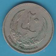 Libya - Kingdom 20 Milliemes 1385 (1965) Idris I - Libya