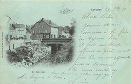 SENONES - Le Rabodeau, Carte Datée De 1899. - Senones