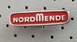 Nordmende Radio TV Television Televisions And Domestic Appliances Germany Pin - Mass Media